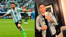Barbero peruano le cambió el look a Messi y así lo dejó